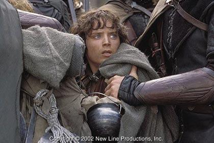 Фродо, схваченный Фарамиром и его людьми
