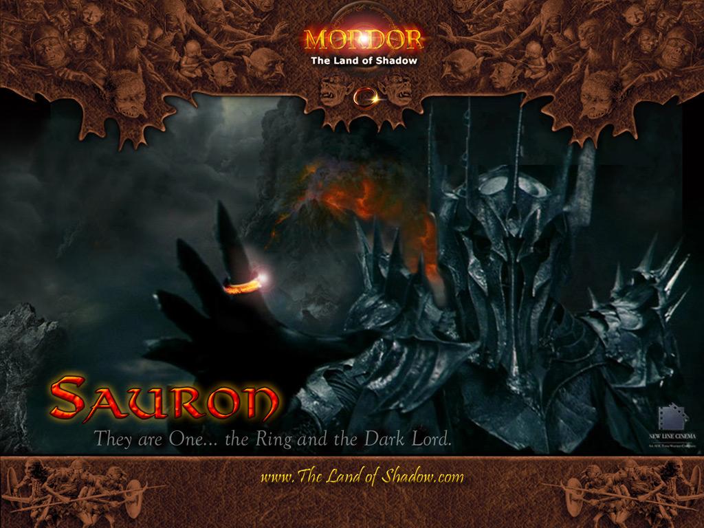 Саурон 1024х768 с сайта Mordor...The Land of Shadow