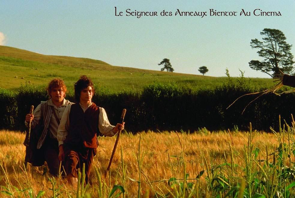 Фродо и Сэм в полях Хоббитании