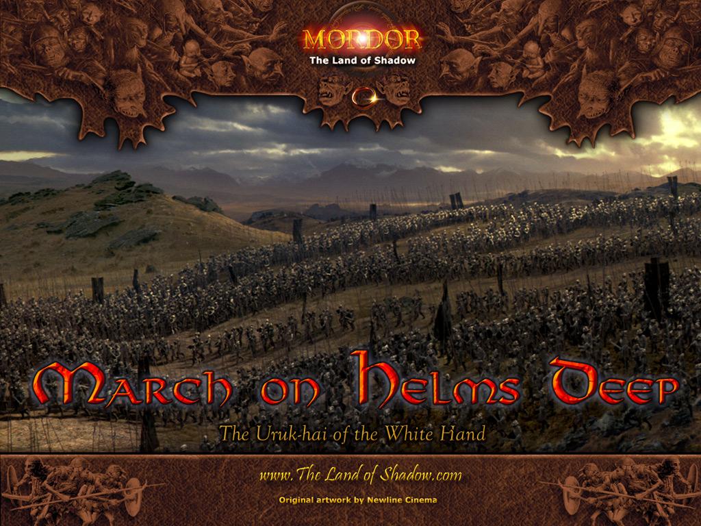 Войско Орков с сайта Mordor...The Land of Shadow 1024х768